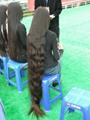 2015 Hot Sale Single Drawn Remy Hair Bulk 70cm 5