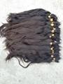 2015 Hot Sale Single Drawn Remy Hair Bulk 70cm 10