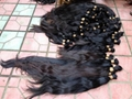 2015 Hot Sale Single Drawn Remy Hair Bulk 70cm 11