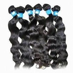 Human hair weaving