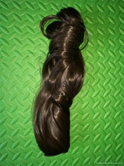 New Style clip on synthetic hair extension