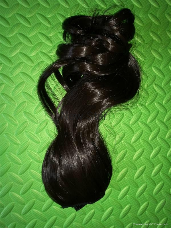 New Style clip on synthetic hair extension 3