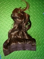 New Style clip on synthetic hair extension 5
