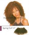 Synthtic hair weaving