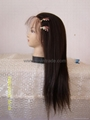 full & front lace wig