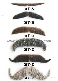 Eyebrow and Moustaches 1