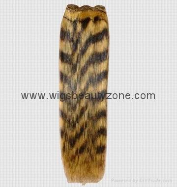 Silky straight human hair weaving 1