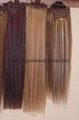 Silky straight human hair weaving 2