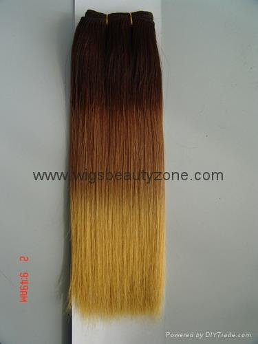 Silky straight human hair weaving 4