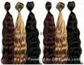 Hand made wefts