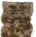 Clip on hair weaving 4