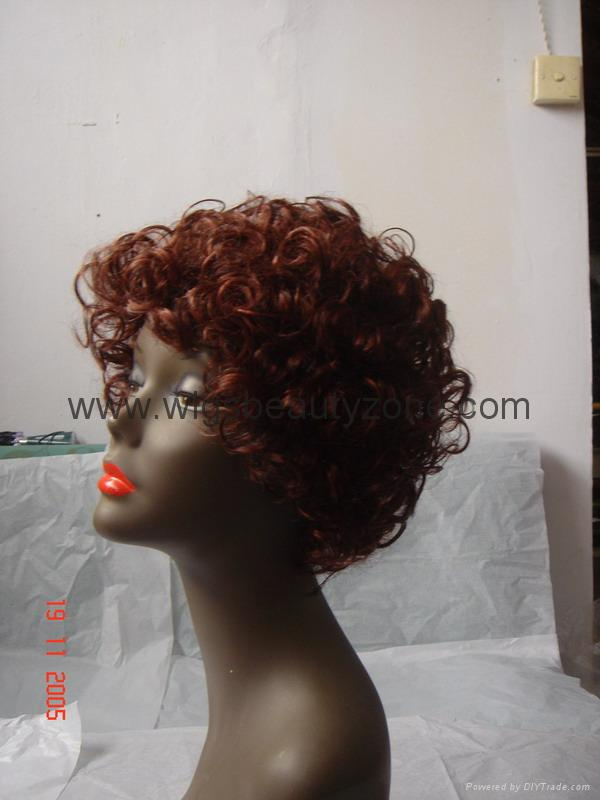 Synthetic Short Wig 3