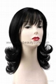 Synthetic Medium wig 5