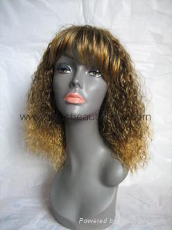 Synthetic Long wig 3