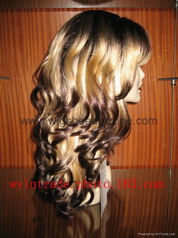 Synthetic Long wig 4