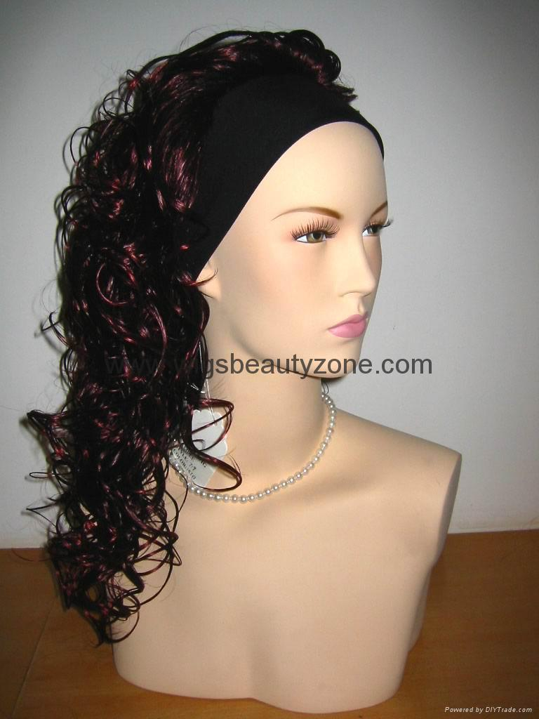 Synthetic Half Wigs 5