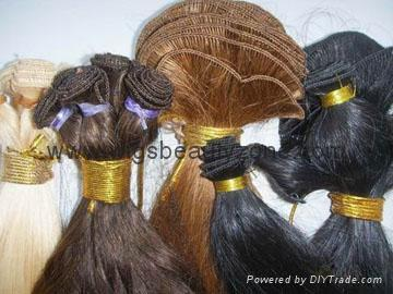 Hand made wefts 3