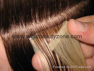 PU hair weft 5