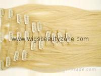 Clip on hair weaving 5
