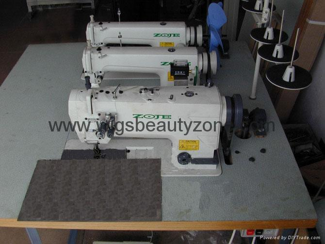 Hair wefts machine 3