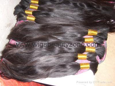 New Single Drawn Remy hair material 1