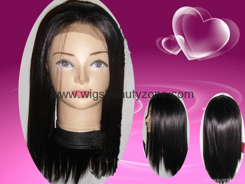 Synthetic lace front wigs 1