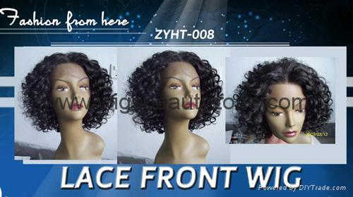 Synthetic lace front wigs 3