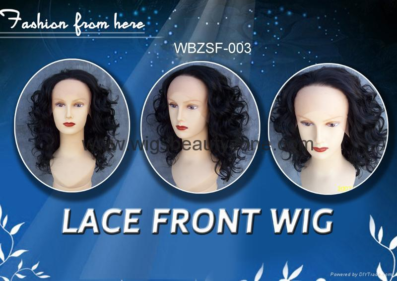 New front synthetic wigs 1