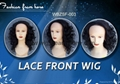 New front synthetic wigs