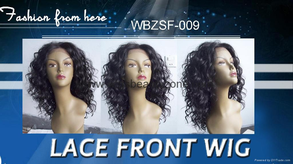 New front synthetic wigs 3