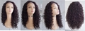 New front synthetic lace wigs