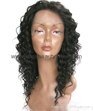 Lace Wig with  bang