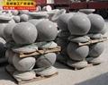 厂家生产直销花岗岩车止石柱 挡车石柱 尺寸可定做