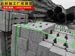 深圳花岗岩厂家生产多种规格路沿石 平道牙