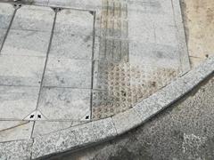 深圳花岗岩厂家生产c型路沿石 t型路侧石