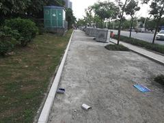 深圳大理石廠生產路沿石 鏽石路緣石 路邊石 價格 圖片 規格