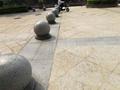 石球石材廠種規格花崗石擋車石球