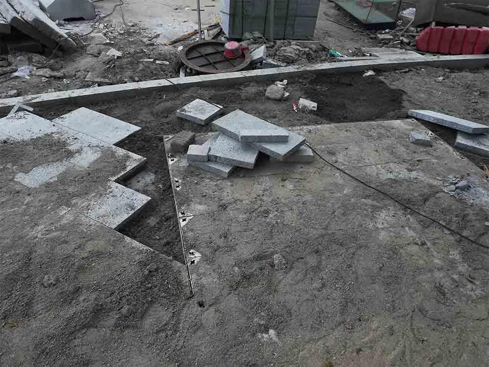深圳石材厂生产各种规格台阶石 蘑菇板 花坛石 图片/价格 4