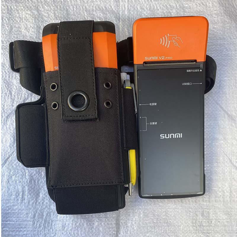 sunmi商米V2pro打印机保护套-美团外卖接单扫码收款机皮套保护套 1