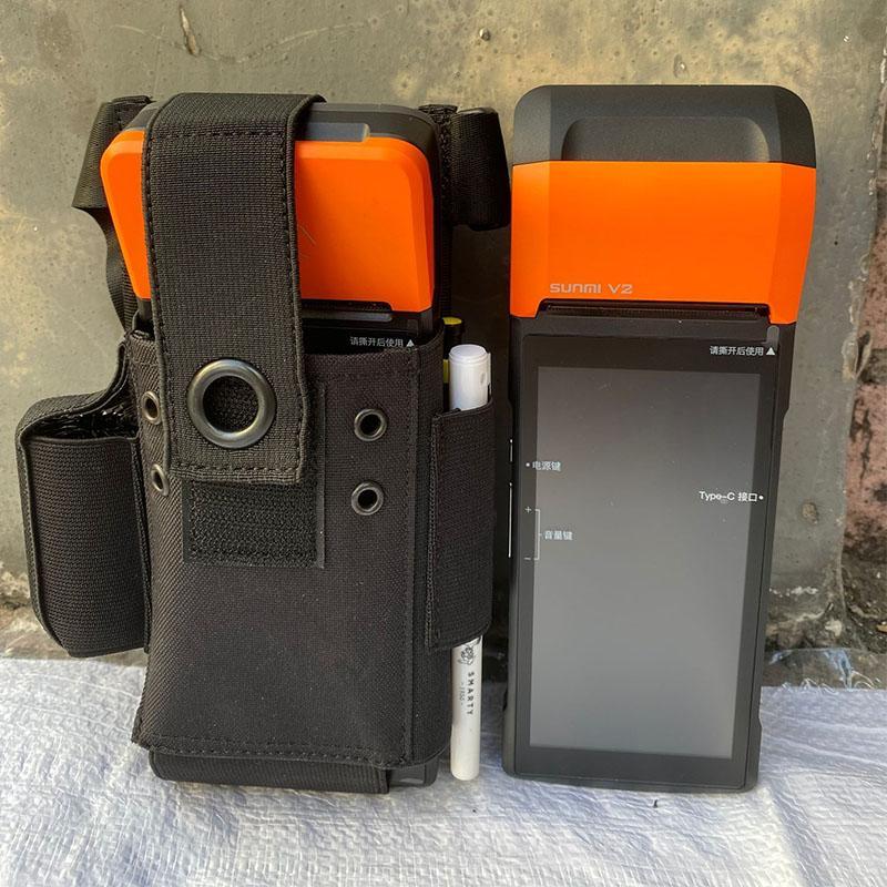 sunmi商米V2pro打印机保护套-美团外卖接单扫码收款机皮套保护套 2