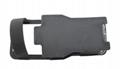 手持测试仪器保护套 检测油田深井便携肩挎PU皮套 定做检测仪皮套