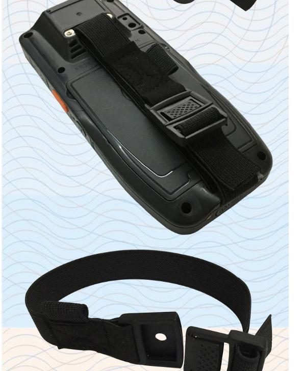 手持數據採集終端背面固定鬆緊手帶 手持機手腕帶手持機綁帶定製 9