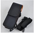 定製終端手持機皮套 牛皮肩挎RFID皮套 便攜真皮採集器保護套