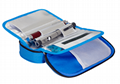 血糖儀布袋定做 防水醫用儀器收納工具包 血糖測試儀收納布袋 1