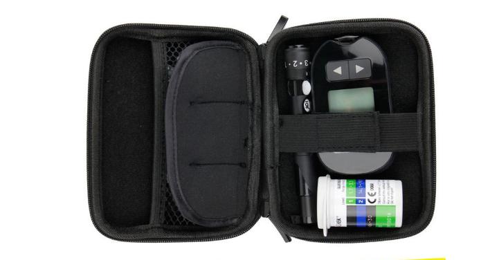 血糖儀布袋定做 防水醫用儀器收納工具包 血糖測試儀收納布袋 6
