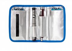 ¥6.00 成交1247PCS 厂家定制加工牛津布医用产品收纳包 耐用便携多功能血糖仪收纳包 东莞市