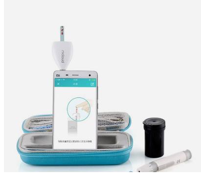 血糖儀牛津布袋 防塵便攜血糖儀包 DexcomG6動態血糖儀收納包 7