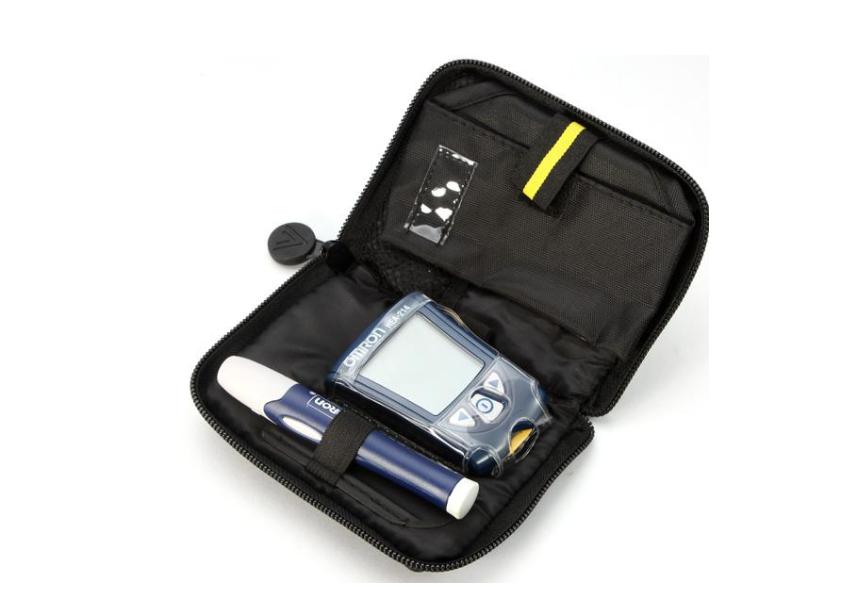 定制血糖仪保护套 工具袋收纳包 医疗检测仪器皮套 3