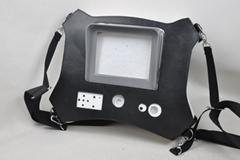 超声波探伤仪保护套定制PU手持便携式肩挎金属探测仪皮套