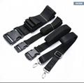 ¥25.00 黑色中性工业平板手背带 厂家定制POS机扫描手持仪器便携腕带
